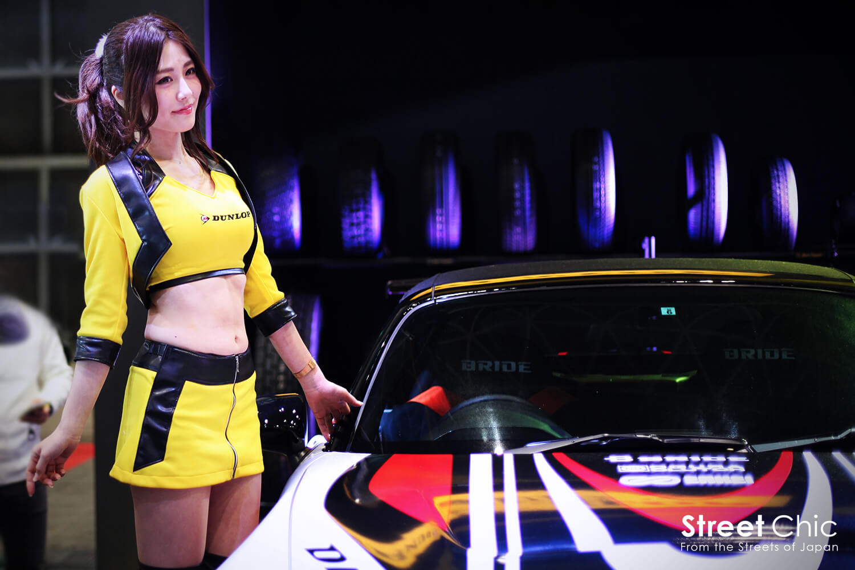 2017年東京オートサロンのコンパニオン28