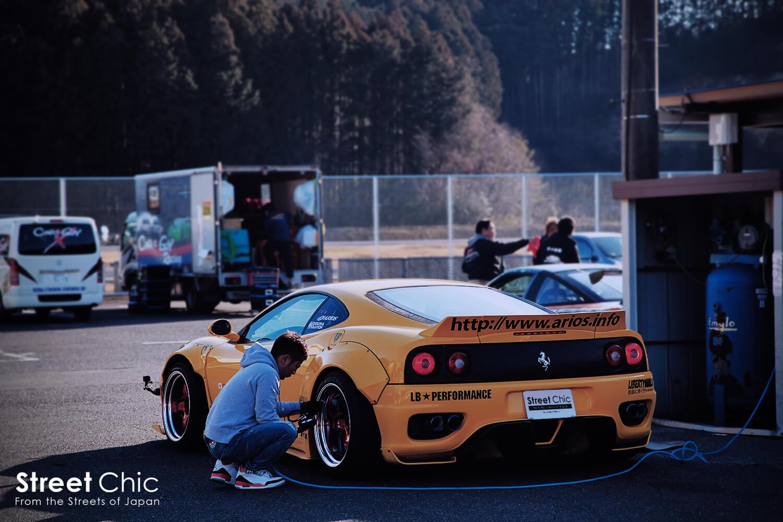 ドリフト仕様フェラーリ360モデナ
