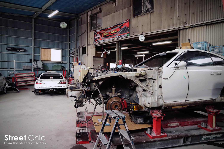 神奈川県相模原Auto Garage HKY