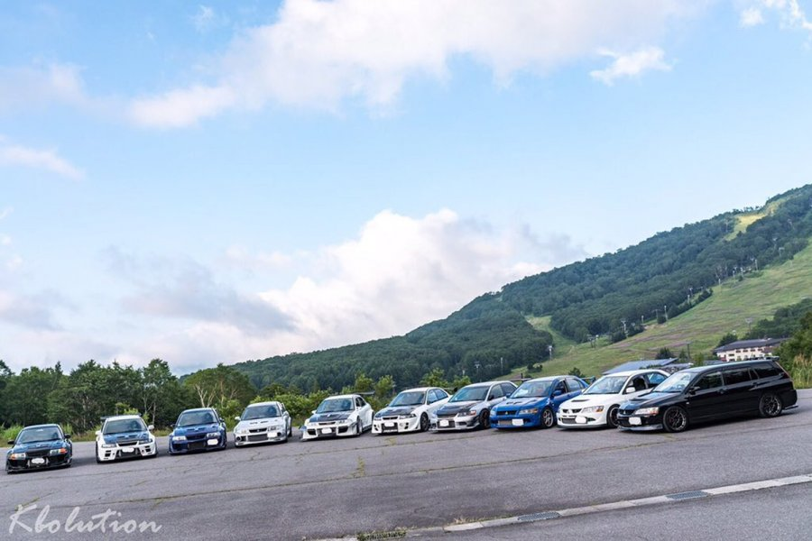 エボ&インプ合同!!志賀高原ツーリングオフ2017、長野県にて大規模ツーリング
