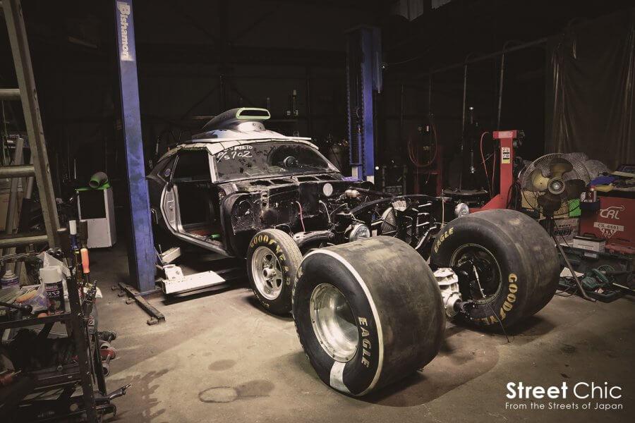 1000馬力超えのドラッグマシン!!アートエンジンの製作現場にお邪魔した。日本一、スワップ、ドリフト濃すぎるレースショップ