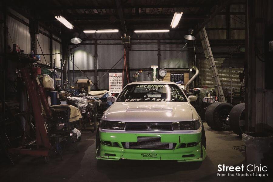 アートエンジン流、車高調セッティングについて聞く!!所有しているJZX90クレスタのこだわりポイントとは