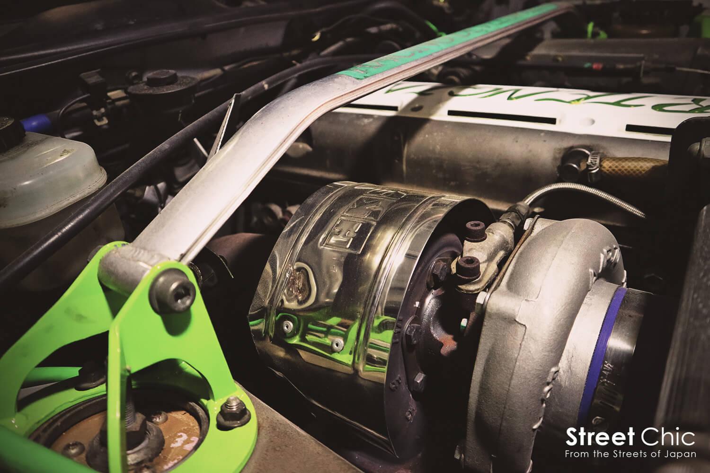 アートエンジンの90クレスタ