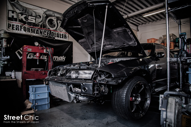 garagemak 32GTR