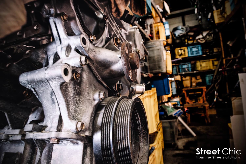 garagemak エンジン
