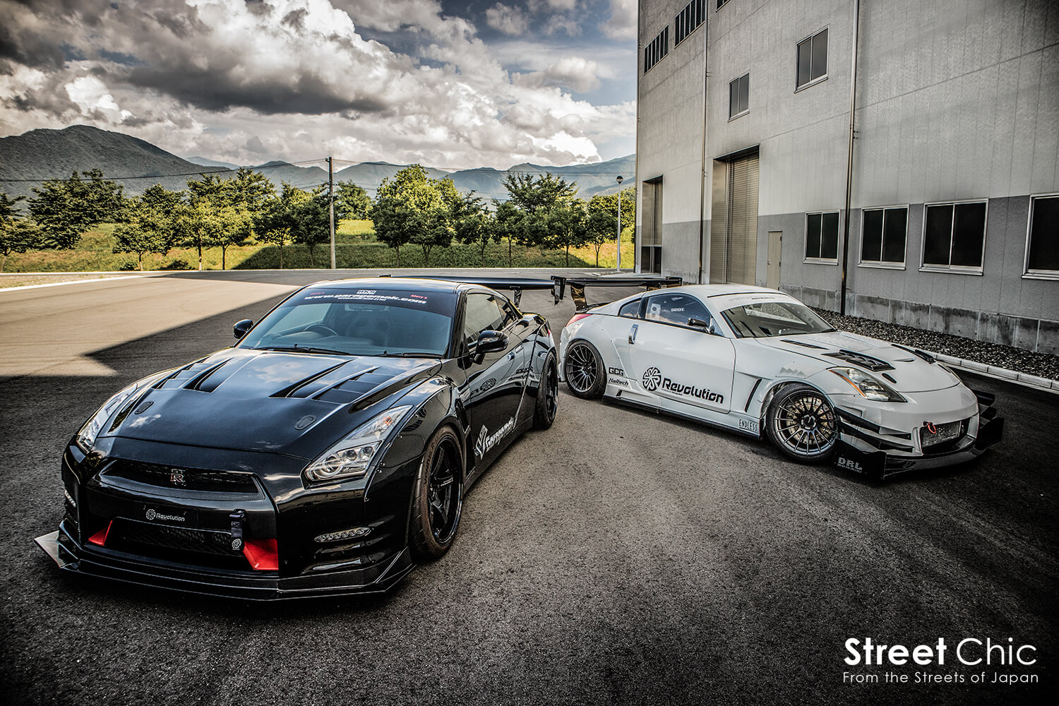 Garagemak. Revolution R35Series&z33 / over fender JDM