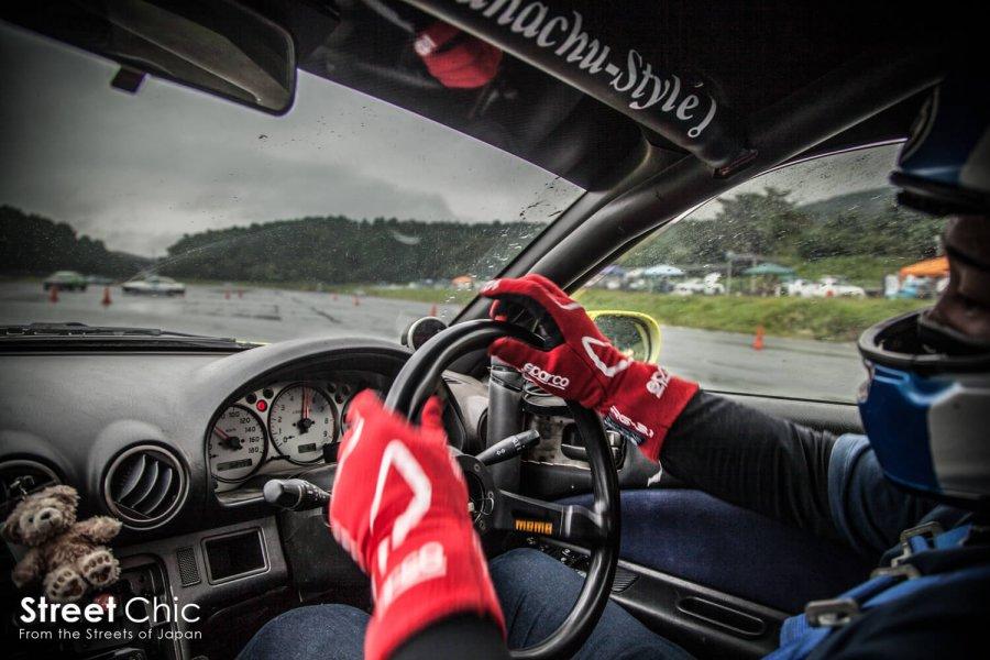 BC RACINGの2ウェイ車高調を組んでドリフトした結果!!モニター当選者に同乗して聞く、以前との違いとは?トラクション、コントロール性、セッティング内容など