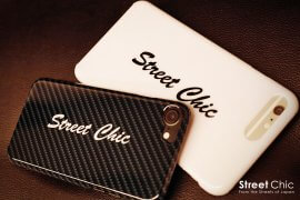 "SteetChic ""Crew"" iPhone Cover [CARBON-BLACK] [WHITE] [BLACK]"