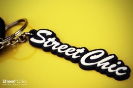 "StreetChic ""Crew"" Rubber KEY-CHAIN"