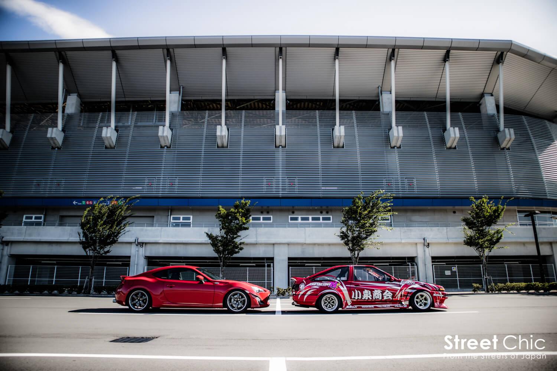 N2日本一にも輝いた、小泉コータローがドリ車を造る!!