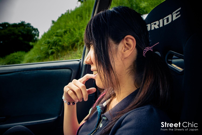 JZX90マークⅡでドリフト!!9年間走り続けた、女性ドライバーCさん