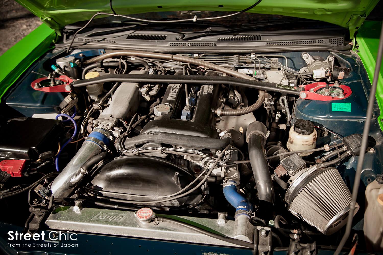 シルビアのSRエンジンを見比べる!