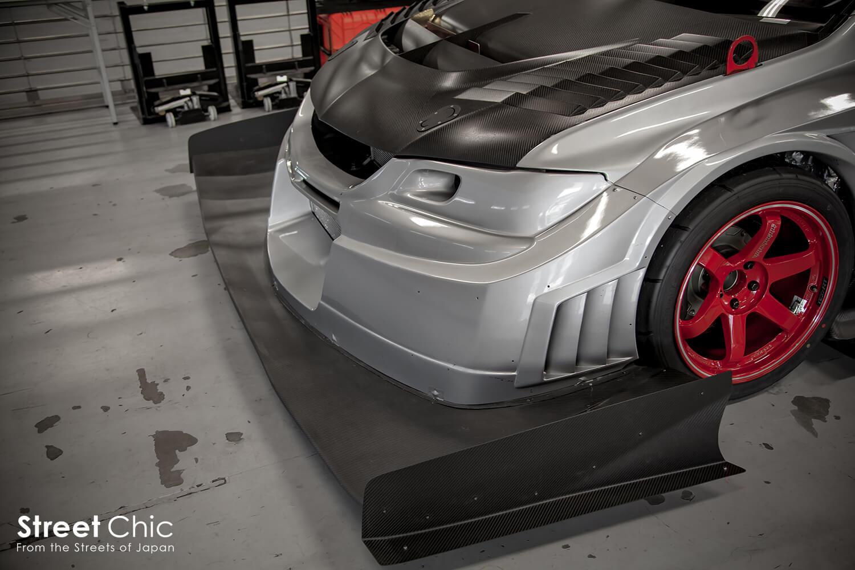 チューニングカー最速!!G-FORCEランサーエボリューション、VOLTEXエアロ