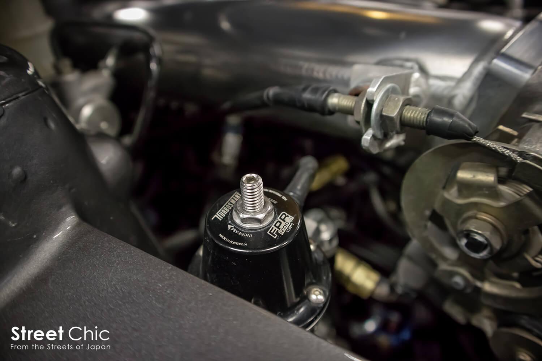 S15シルビア、SR22VET、915馬力、ドライサンプ、水平マウント!!Garagemak銀鮫号