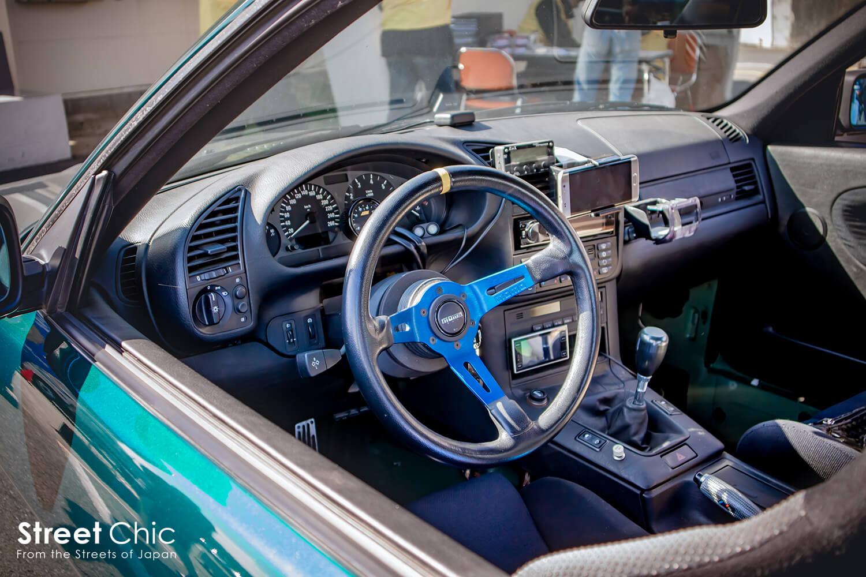ユーロ車のチューニング・カスタム。E30、E36、ベンツ190EエボリューションⅡなど。
