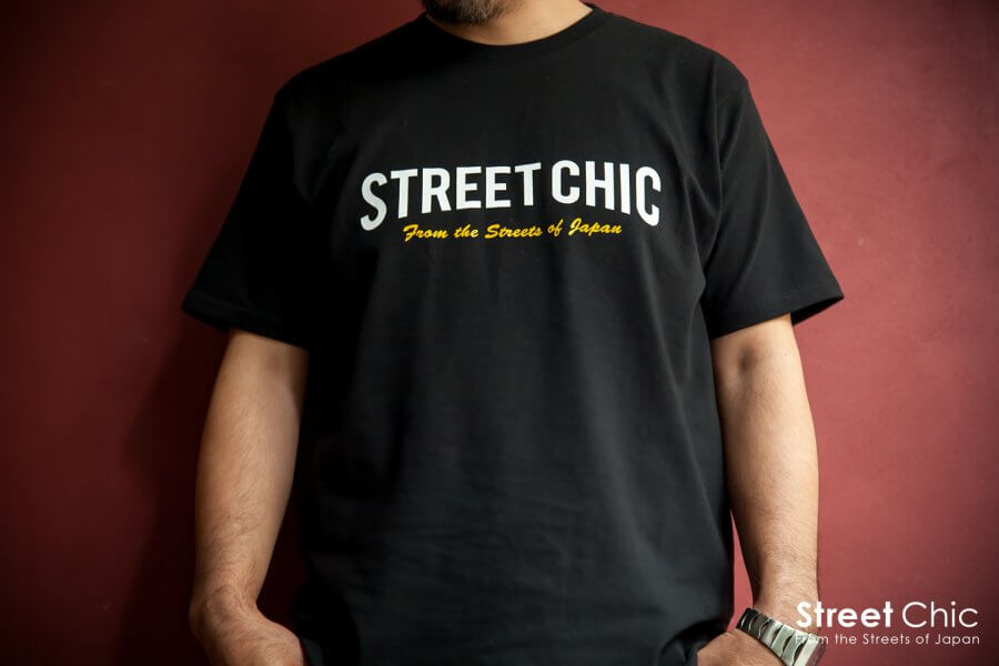 "StreetChic ""Crew"" T-SHIRT BLOCK / CURVE [BLACK] [WHITE] [NAVY] [PINK] [LIME] [TURQUOISE]"