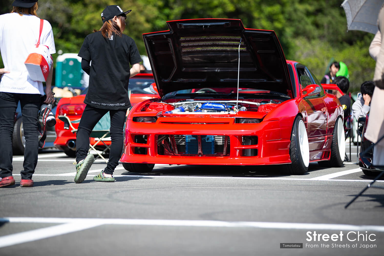 S13、S14、S15シルビア、180sxのSRALLSTARMEETING2018の様子