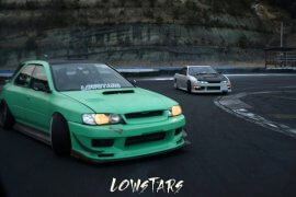 LOWSTARS meeting2018!!関東で注目を集めるイベントLOWSTARSが熱い!!スバルドリフター、シャコタニストがDRIFT、GRIP!!6月9日(土)は日光サーキットに集合!!