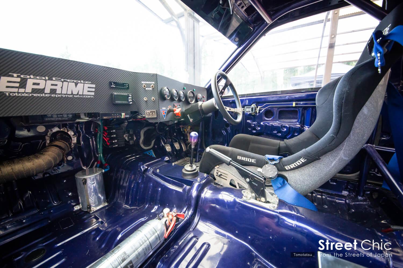AE86ターボ化、スーパーチャージャーベースのエンジン、E.PRIME
