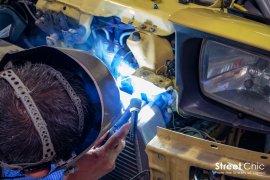 100%割れると言われたデフロスターカバーの外し方、DIYで内装外し!!バンパーステー台座の溶接、エンジンマウント交換他!!デモカー企画@埼玉KAZUTECH、rdbase