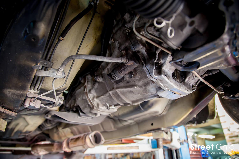 車高が高くてもカッコ良く見せる方法、クラッチ交換、プロテクターモールなど