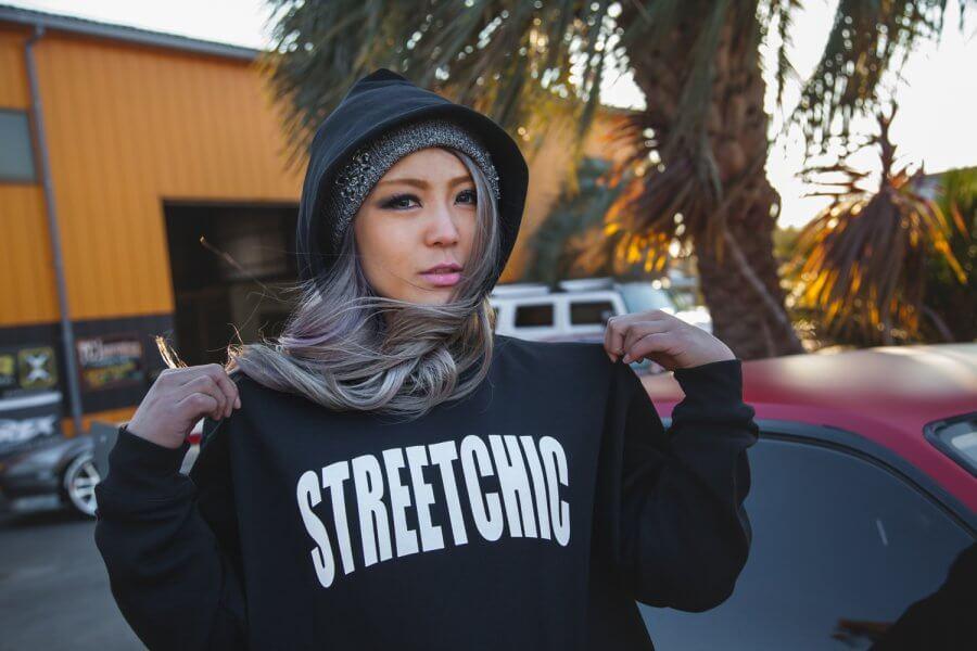 "StreetChic ""Impress"" HOODIE!!ストリートシックのパーカー全8色がリリース!!"