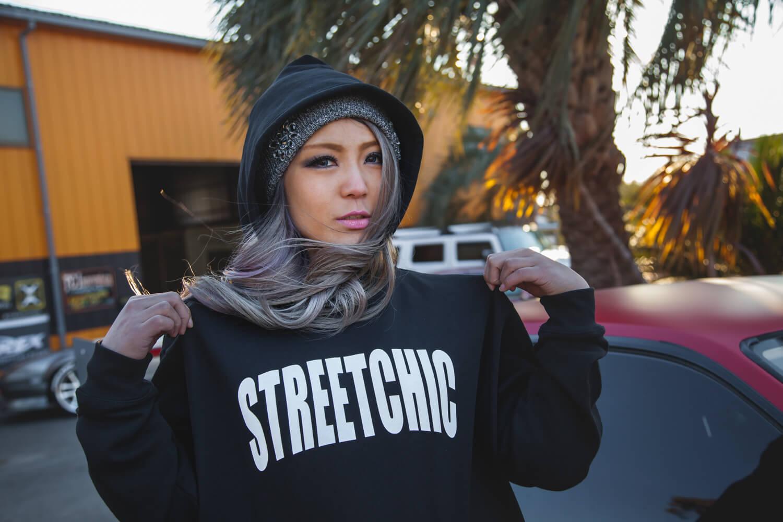 ストリートシックのパーカー、Impressシリーズ