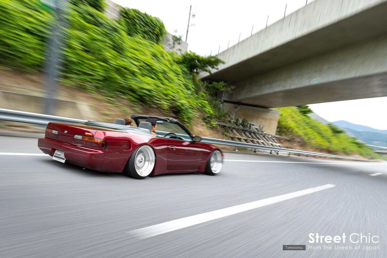 S13シルビアと180sxがイシカワボディから登場、チャネリング、ノッチ加工、パイプフレーム、ナロー化、フェンダリストなこだわり!!