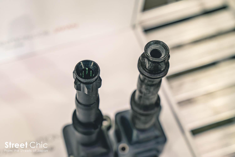 ハイスパークイグニッションコイルの電圧を測って検証