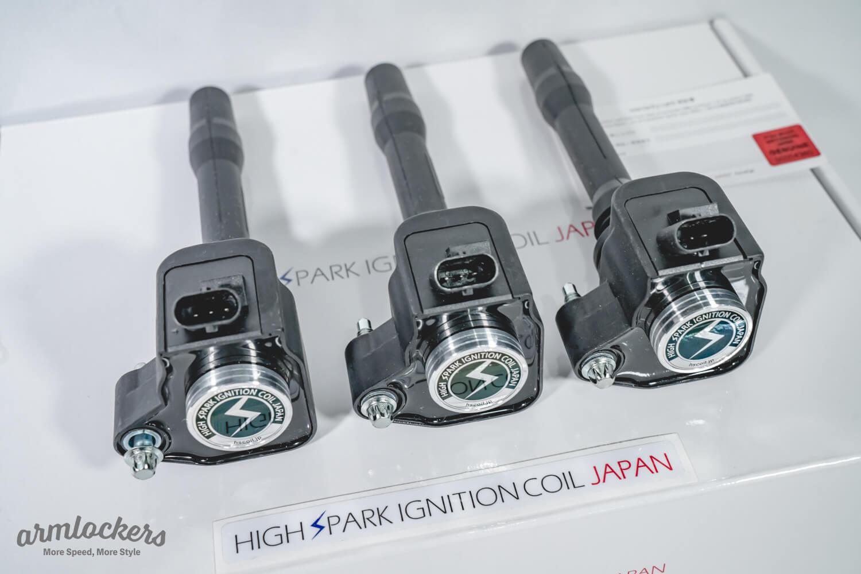 ハイスパークイグニッションコイルのA90スープラ、BMW用がアームロッカーズにて販売!!