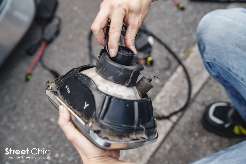 ヘッドライトをBalusのLEDに交換!!LEDの交換方法、バルブ選び他
