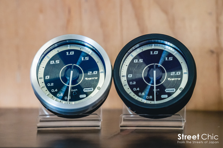 バイトリクスのメーターJAPAN EDITIONが登場!!ブースト、水温、油温、油圧、吸気温、排気温、電圧計の7種類のラインナップ