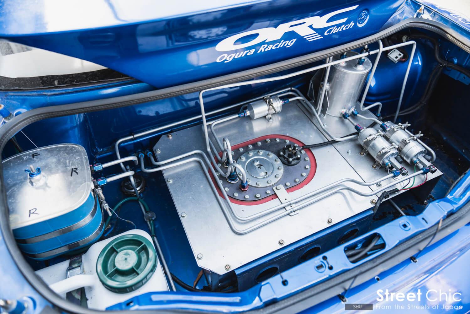 名古屋のMCR factoryにてエンジン脱着作業を依頼